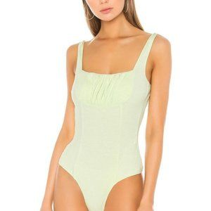 Capulet Soft Lime Green Mallory Bodysuit S NWT